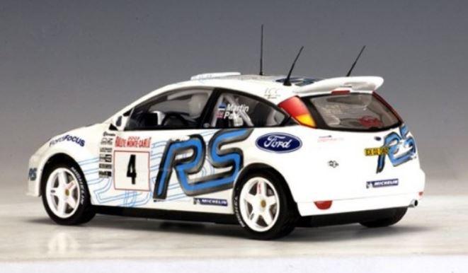 Ford Focus Wrc 2003 Martin Park 4 Rally Monte Carlo